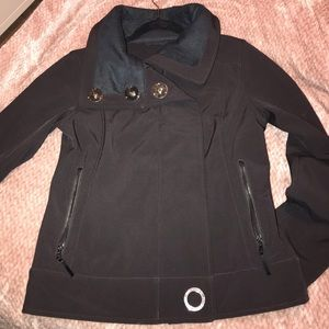 Lululemon soft shell lined waterproof jacket